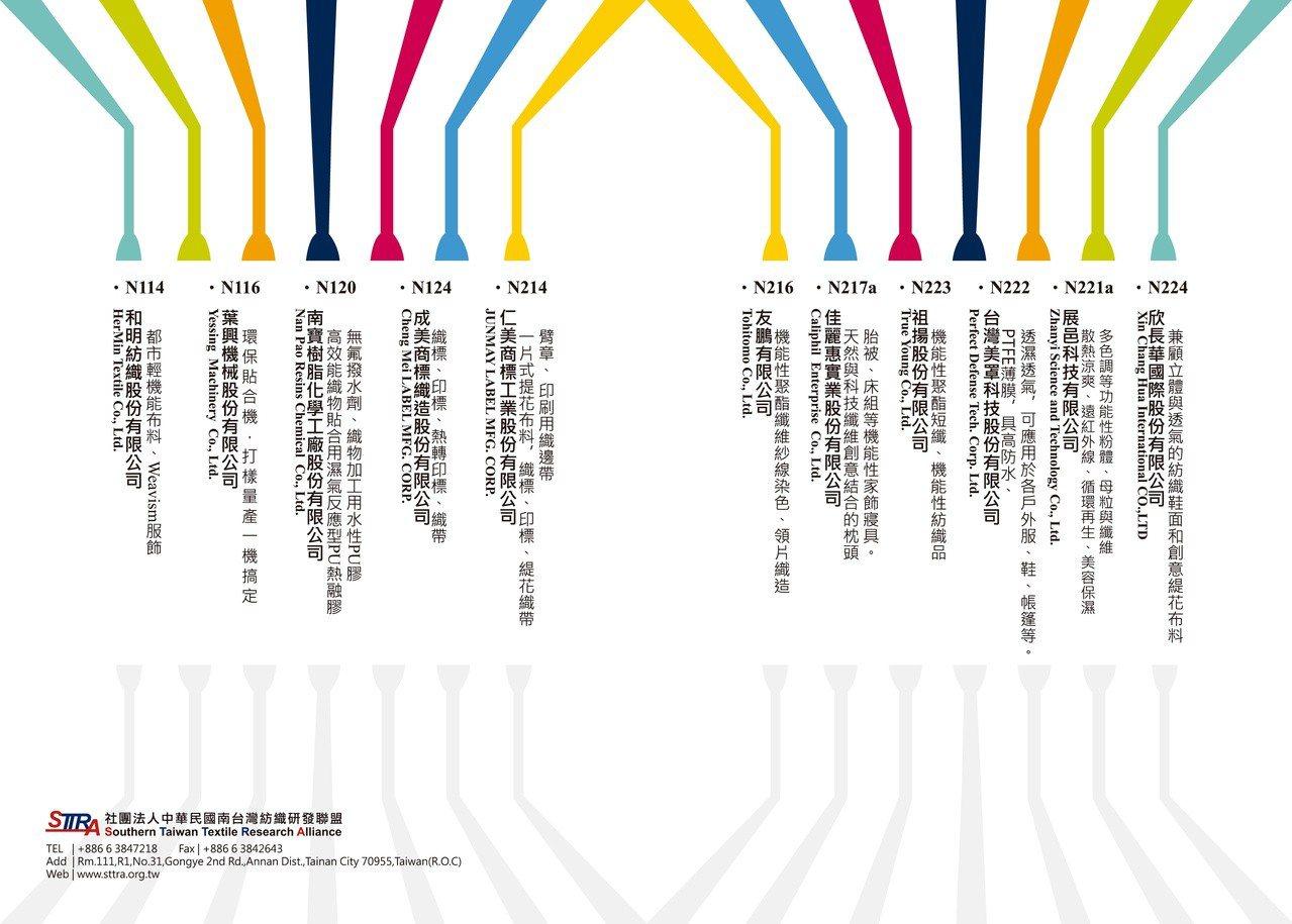 南台灣紡織聯盟/提供。