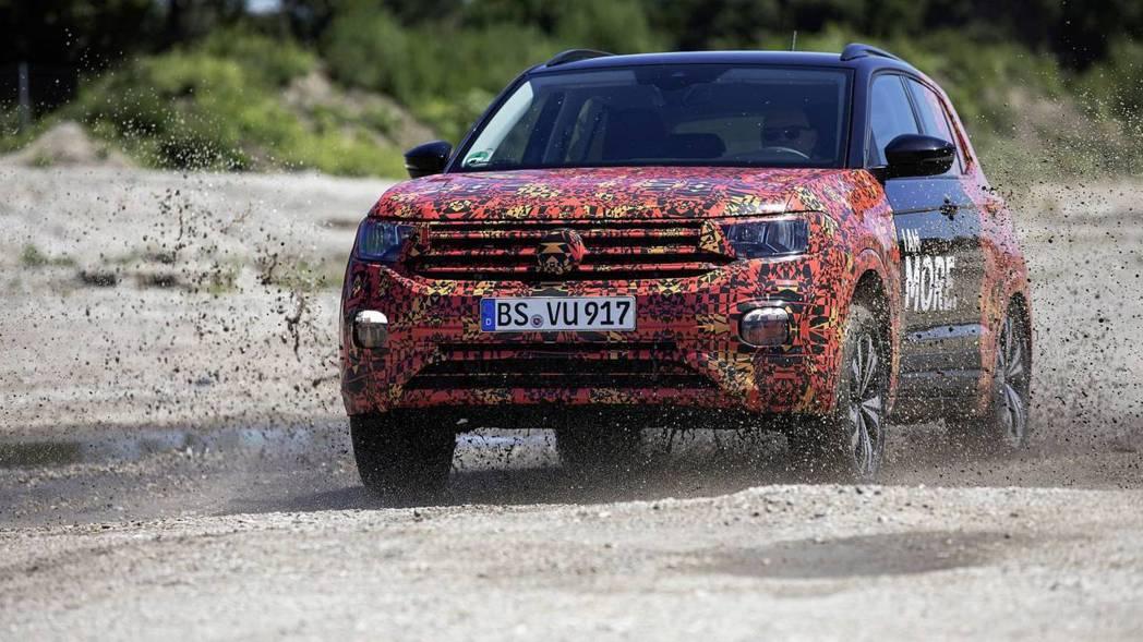 全新Volkswagen T-Cross將在10/25正式發表。 摘自Volkswagen