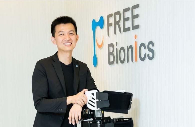福寶科技創辦人巫震華打造出FREE Walk外骨骼機器人,幫助更多脊損傷友脫離輪...