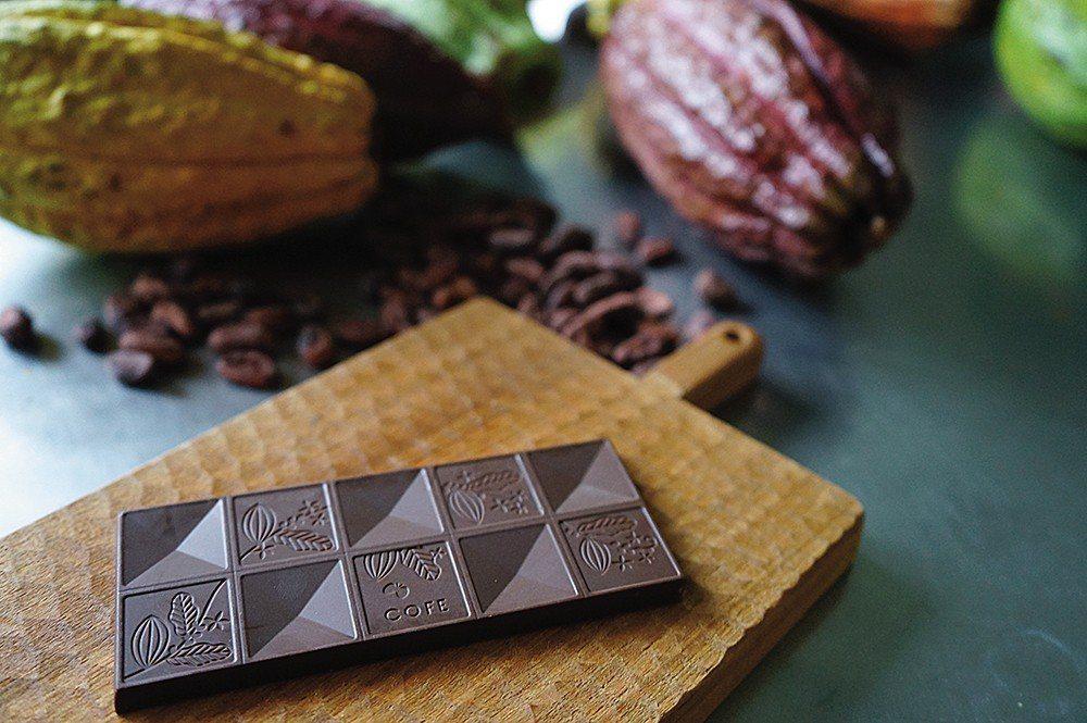 COFE bar象徵台灣精品咖啡的成熟文化,從吃同樣嚐得到單品咖啡的各異風味。 ...