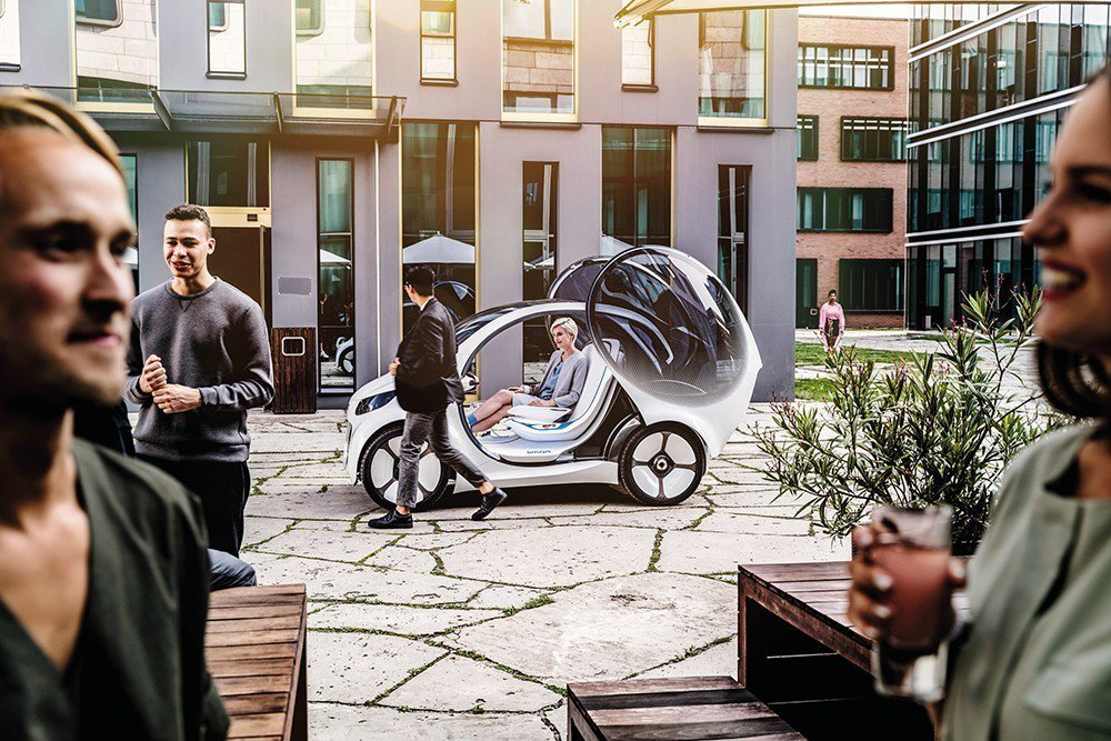 Smart Vision EQ fortwo Concept定義出未來微型車的四...