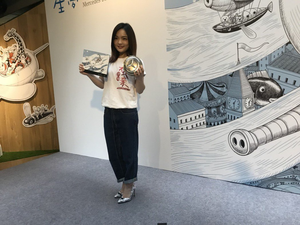 徐佳瑩5日出席公益活動。記者梅衍儂/攝影