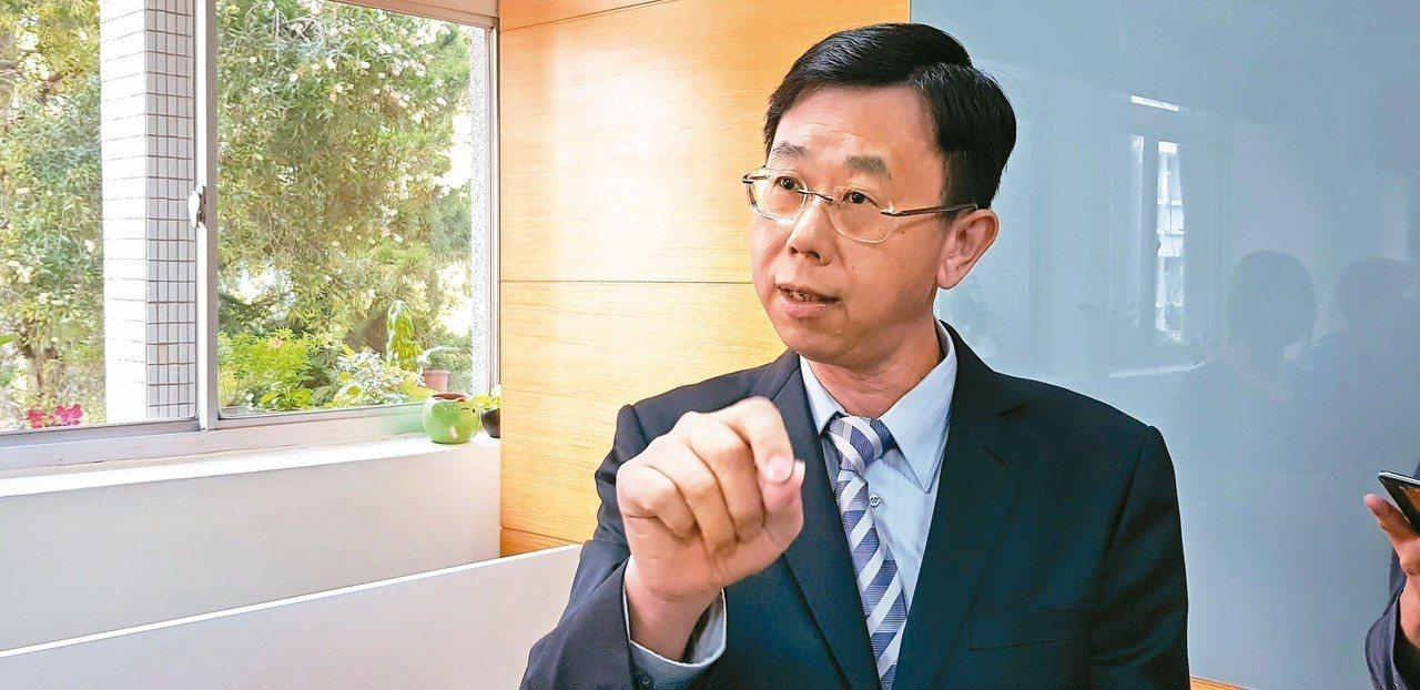 調查局長呂文忠。 記者張宏業/攝影