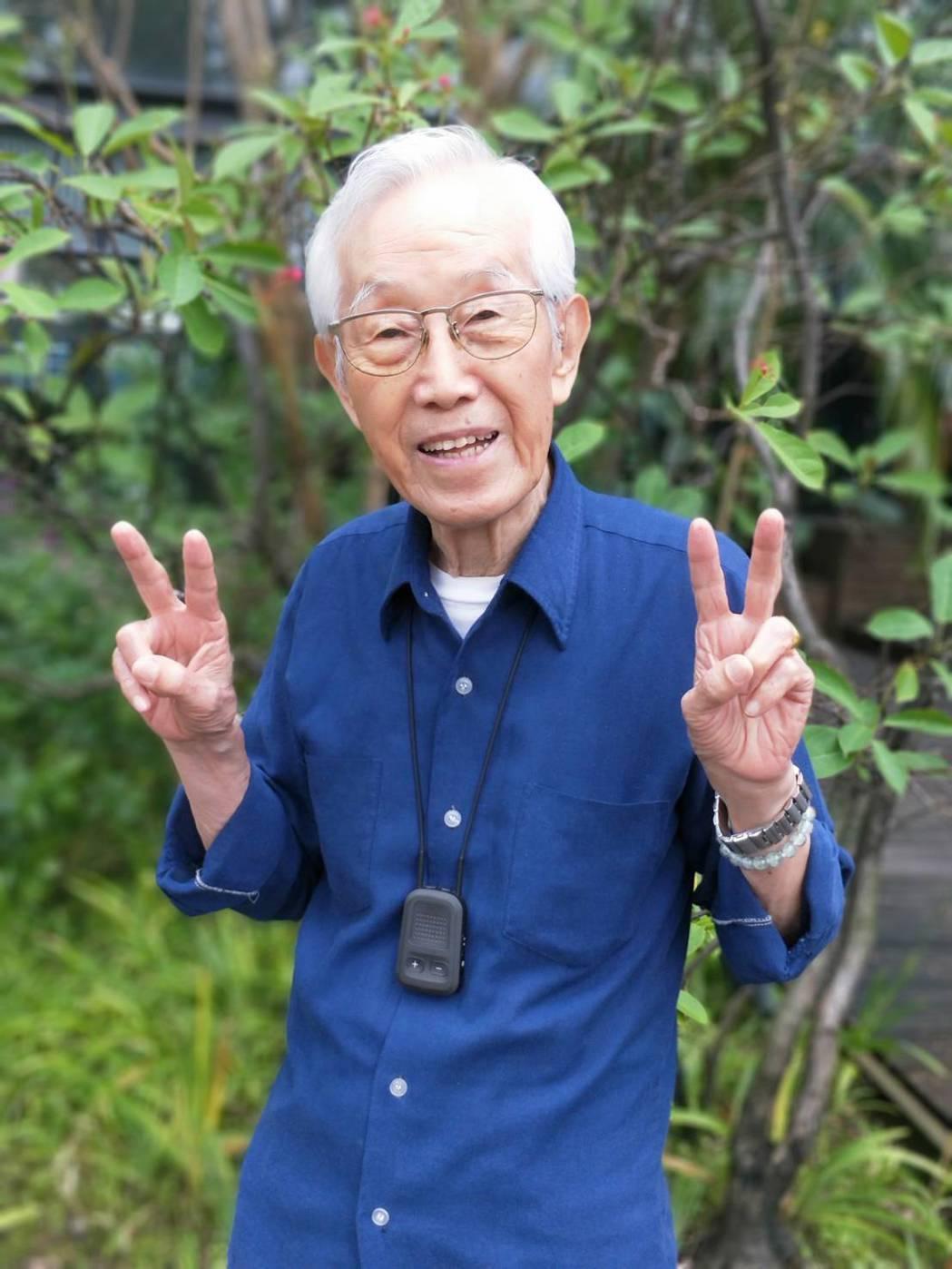 高振鵬今年90歲是金鐘特別貢獻獎得主。圖/三立提供