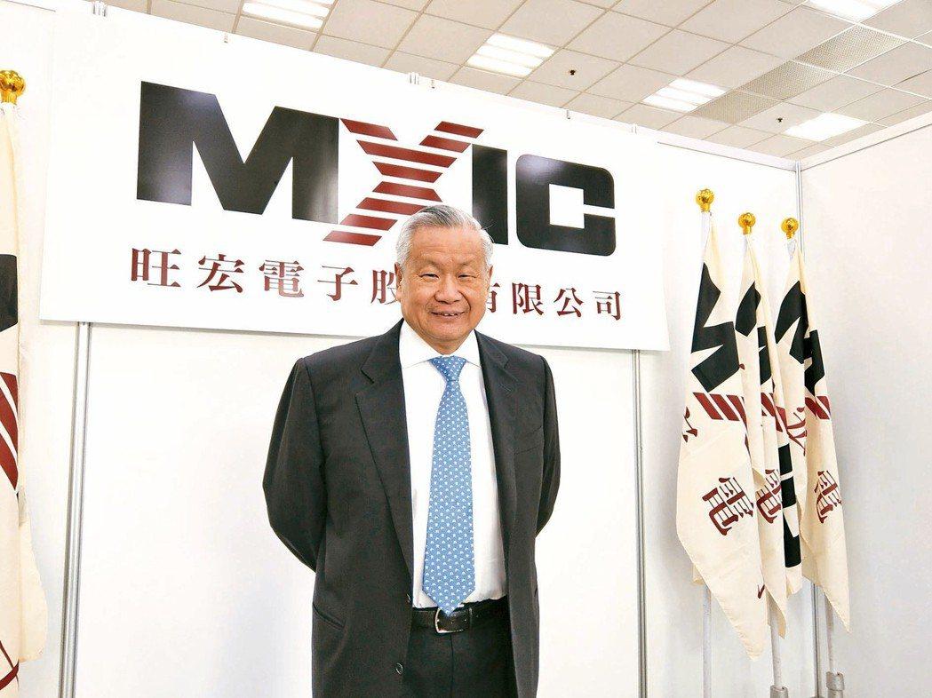 旺宏董事長吳敏求 (本報系資料庫)