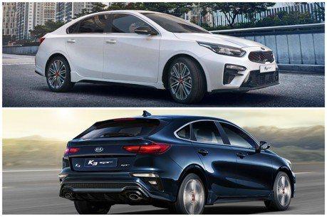 原來韓系車這麼帥 全新Kia K3 GT四門/五門版韓國上市