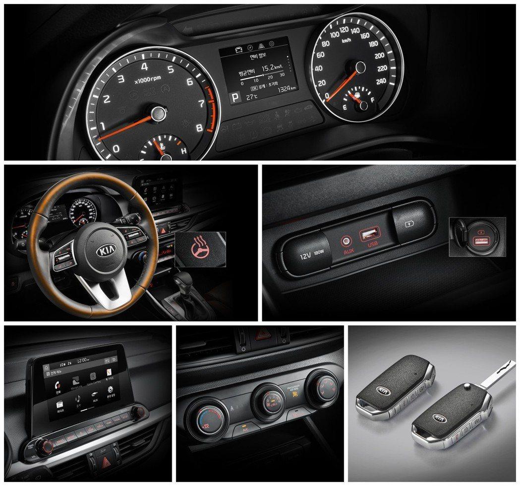 全新Kia K3 GT內裝。 摘自Kia
