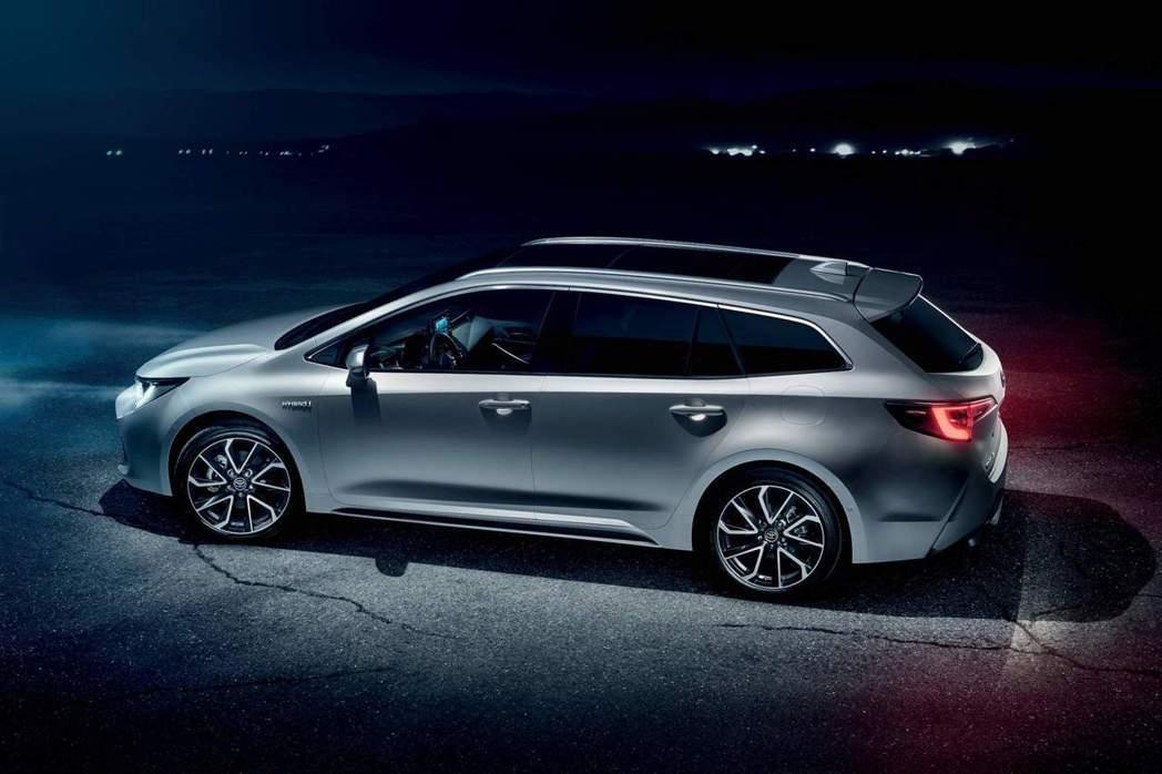 全新Corolla Touring Sports。 摘自Toyota EU