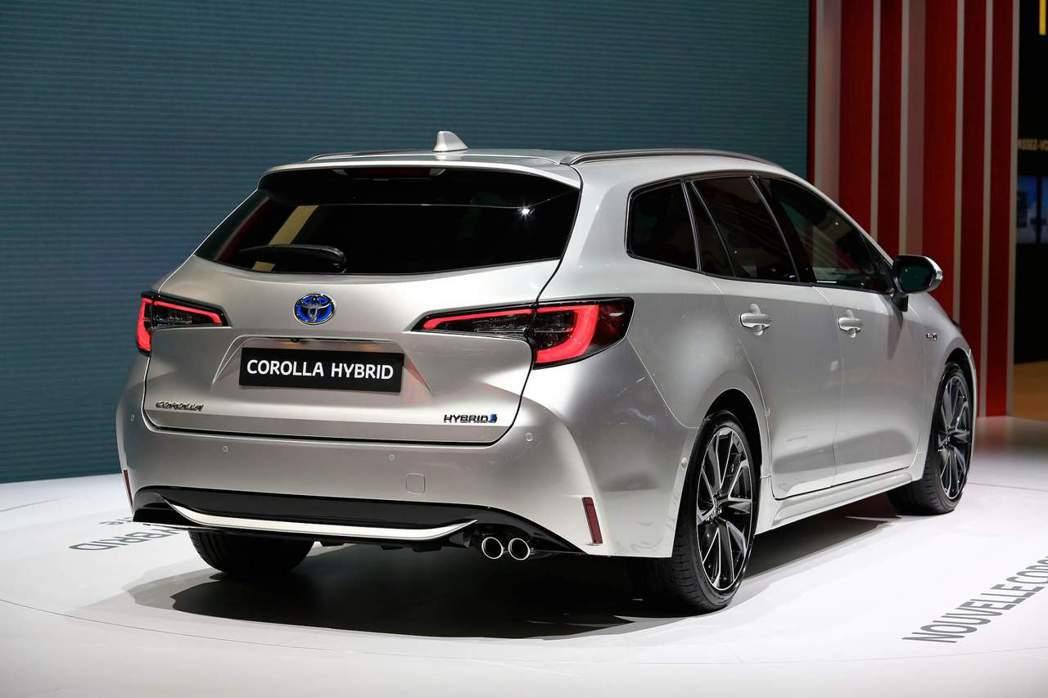 全新Corolla Touring Sports。 摘自Carscoops