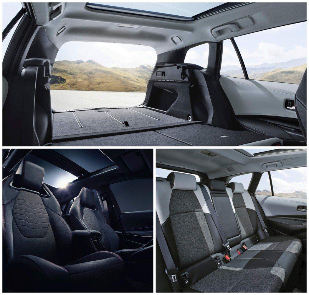 全新Corolla Touring Sports車室。 摘自Toyota EU