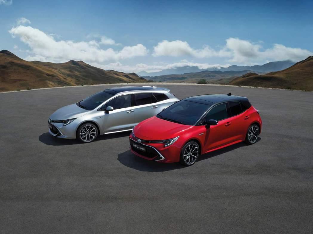 全新Toyota Corolla Hatchback與全新Corolla Tou...