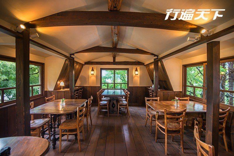 揉合日式與歐式風格的真古館咖啡。  攝影|行遍天下