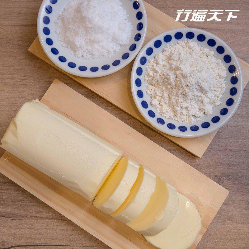 美味小祕密|製作鬆餅最主要的三大食材:麵粉、奶油與糖, Woosa用的都是品項中...