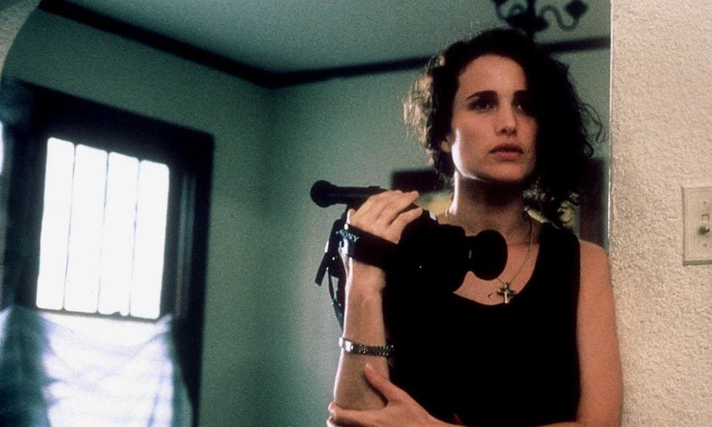 安蒂麥道威爾因「性、謊言、錄影帶」粉碎花瓶形象,進入實力派女星的行列。圖/摘自i...
