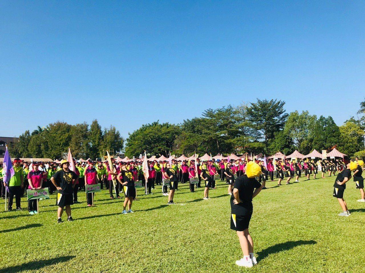 大溪區農民運動大會有1500人參加。圖/至善高中提供