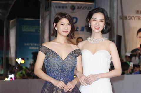 第五十三屆金鐘獎,謝盈萱、江沂宸走星光大道。