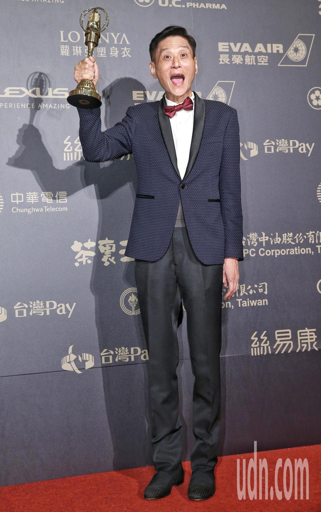 喜翔獲迷你劇集(電視電影)男配角獎。記者鄭清元/攝影