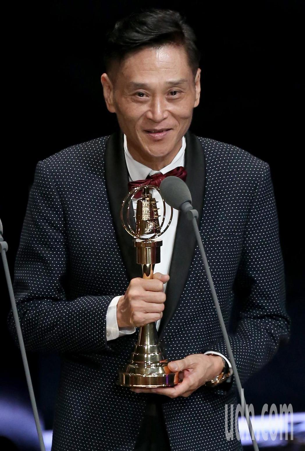 喜翔獲迷你劇集(電視電影)男配角獎。記者林澔一/攝影