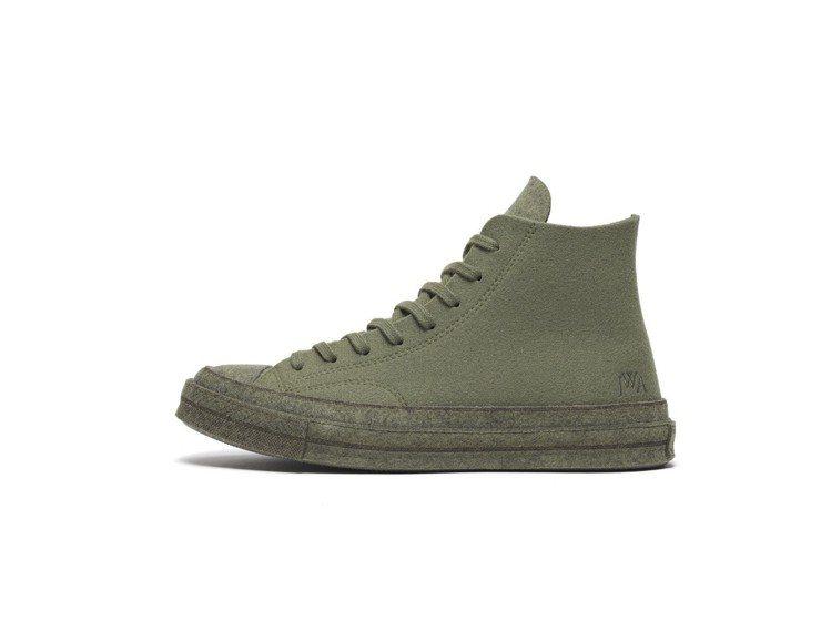 Converse x JW Anderson Felt系列Chuck 70鞋,約...