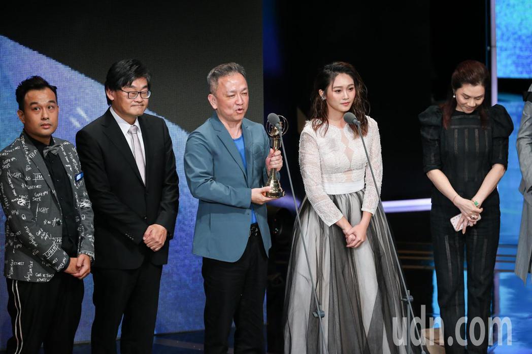 第53屆金鐘獎頒獎典禮在國父紀念館舉行,天才衝衝衝獲益智及實境節目獎。記者林澔一...