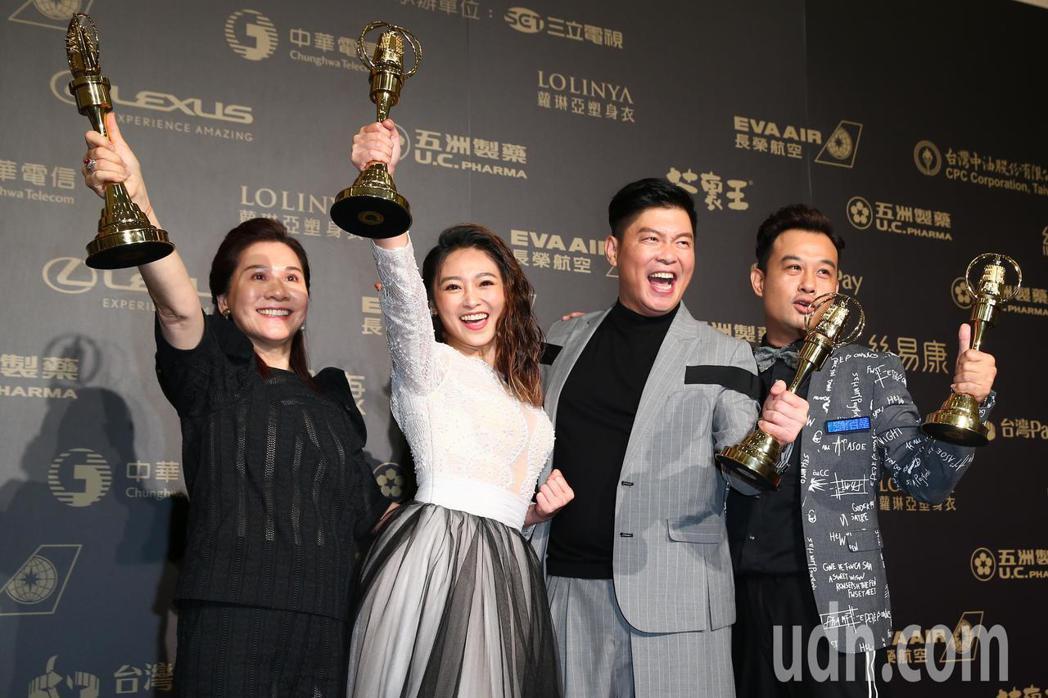 第五十三屆金鐘獎,天才衝衝衝獲益智及實境節目獎。記者王騰毅/攝影