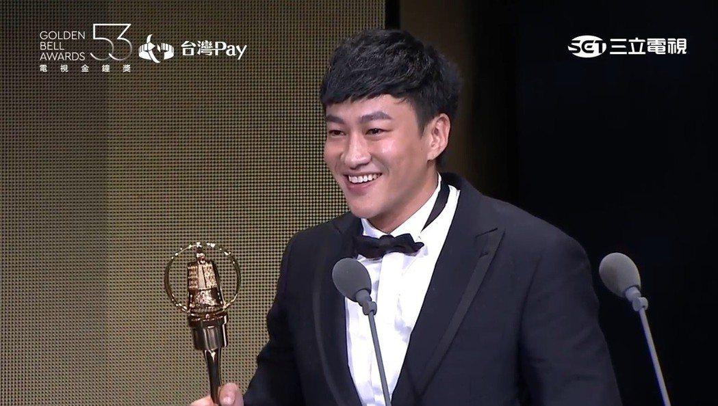何潤東獲金鐘獎最佳戲劇節目導演獎。圖/翻攝自YouTube