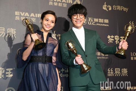 盧廣仲、黃姵嘉奪最佳戲劇節目男女主角獎。