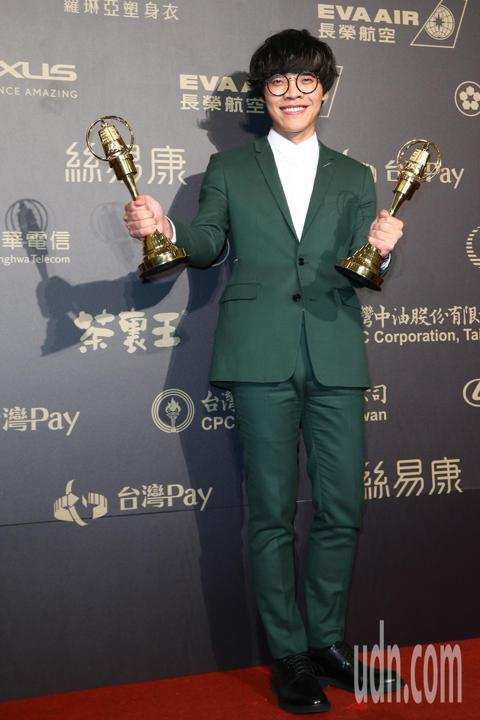 盧廣仲獲戲劇節目男主角獎。