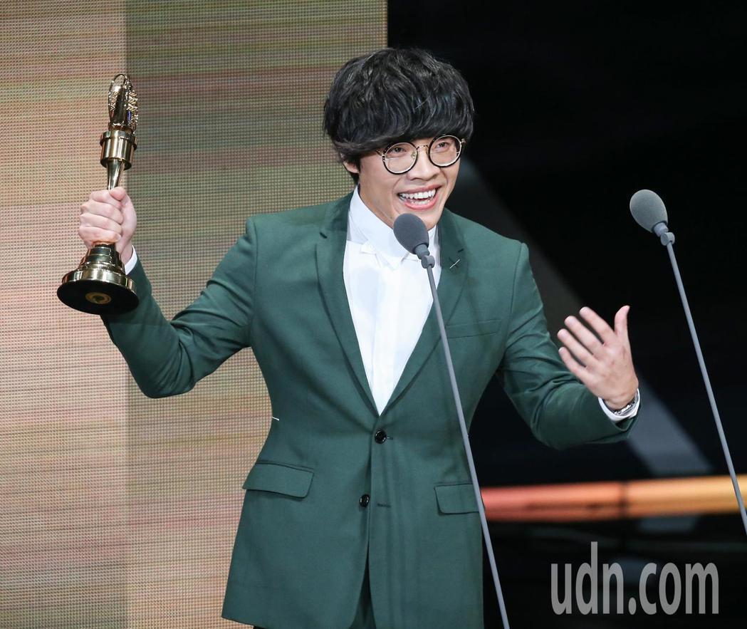 盧廣仲獲戲劇節目男主角獎。記者林澔一/攝影
