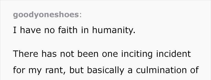 英國醫生寫下對人性失去信仰。圖取自bored panda