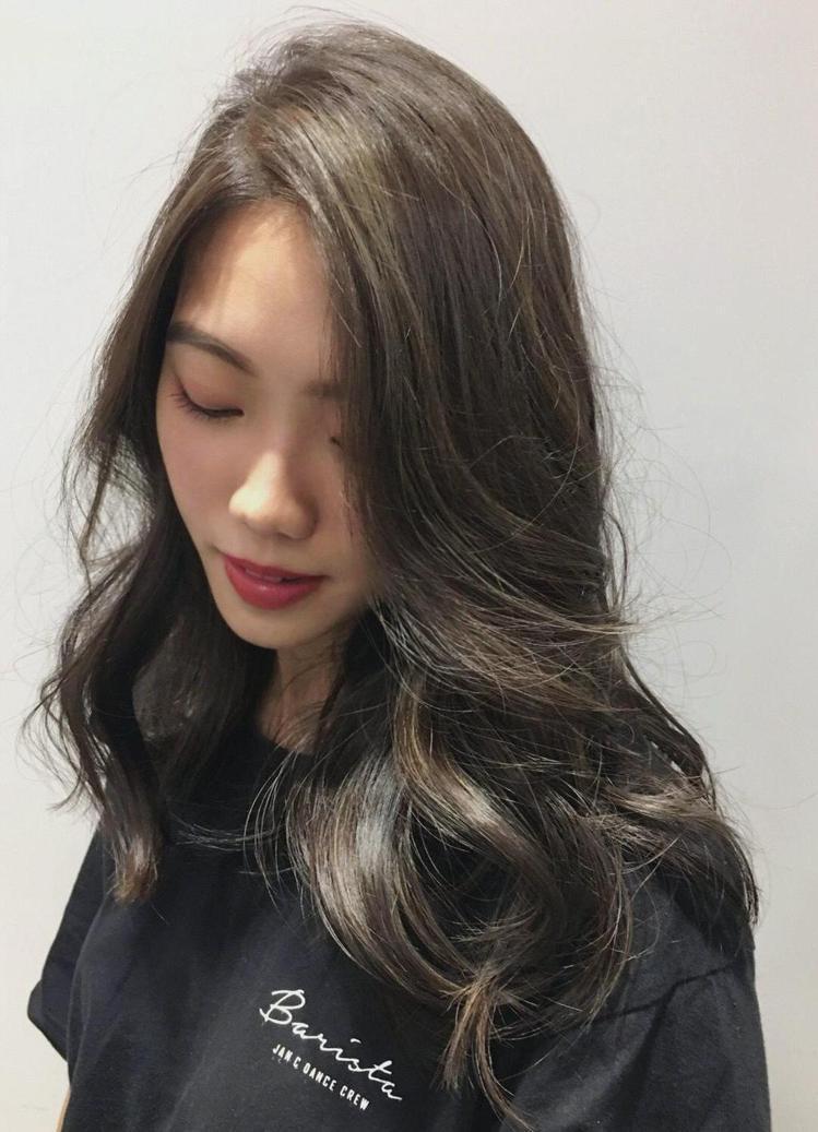 髮型創作/CADO stylist 建一。圖/StyleMap提供