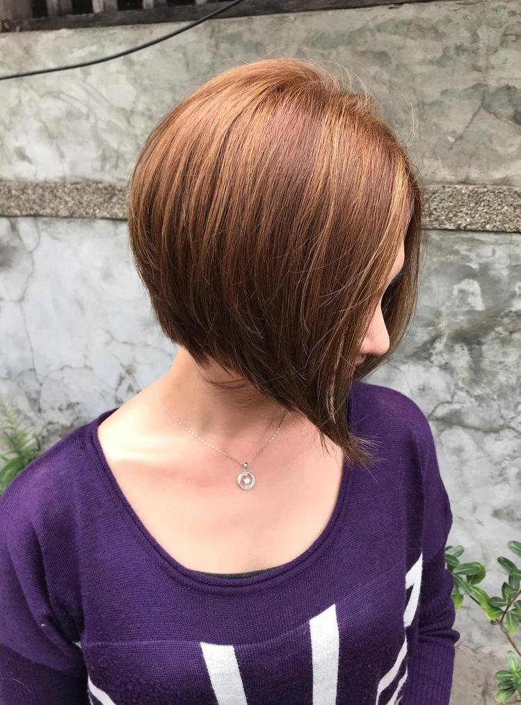 髮型創作/台北東區-Chen(子茜)。圖/StyleMap提供