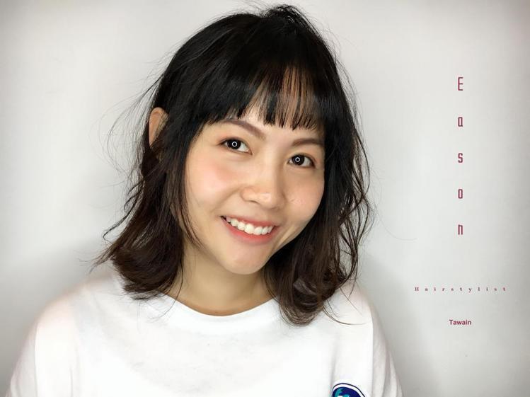 髮型創作/Eason Hsieh。圖/StyleMap提供