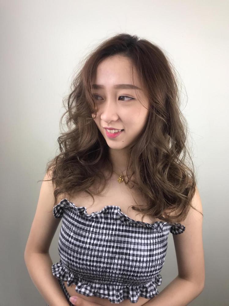 髮型創作/Summer楽Hairdesigner。圖/StyleMap提供