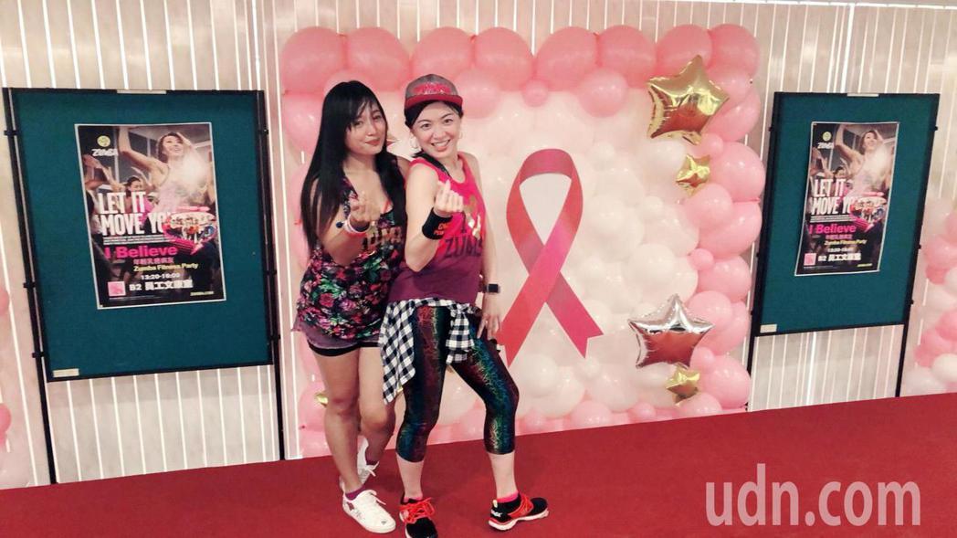 林口長庚醫院乳房外科醫師郭玟伶(右),4年前到美國擔任訪問研究員時,發現國外醫院...