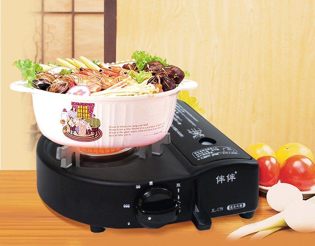 歐王遠紅外線伴伴爐旗艦版JL-179,是煮火鍋的良伴。 界龍工業/提供