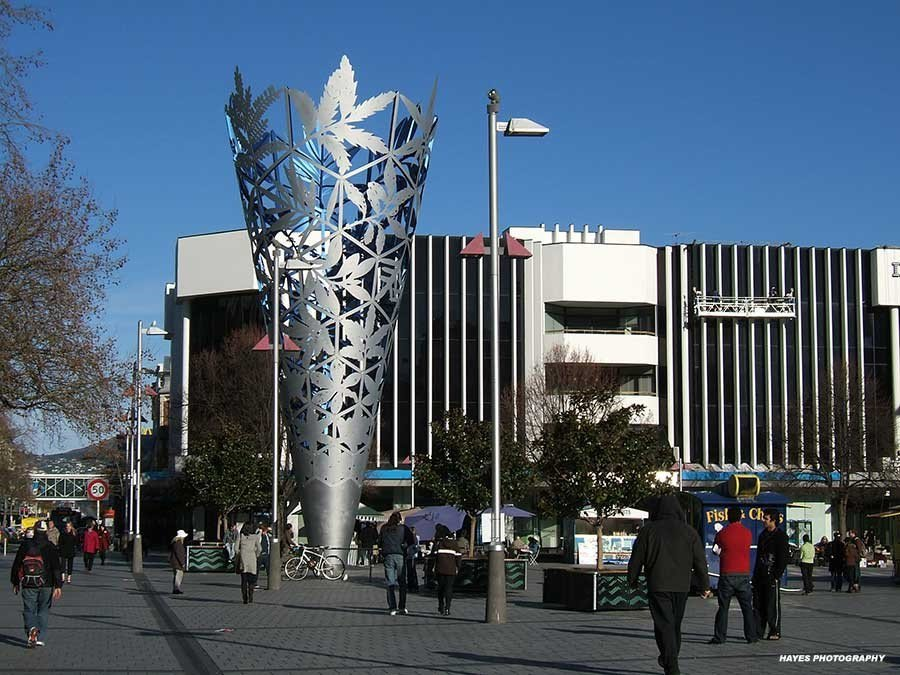 基督城 Christchurch。 圖/lovenewzealand.net.n...