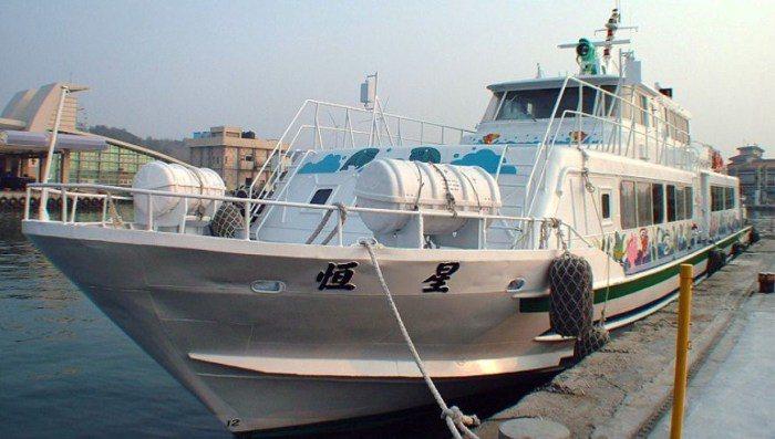搭船。 圖/飛魚船票網官網