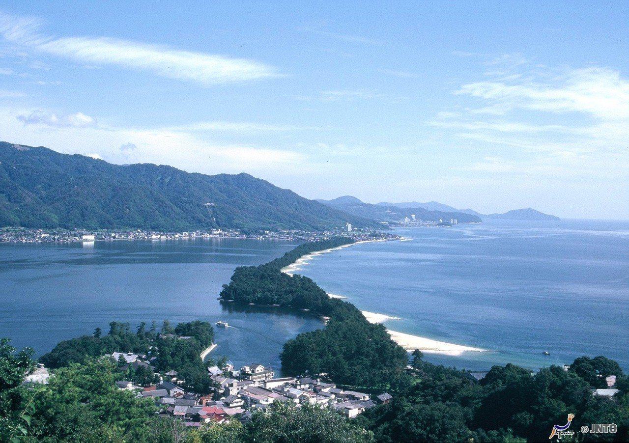 ▲美山町合掌村周邊景點-京都天橋立。(圖/©Kyoto Prefecture© ...