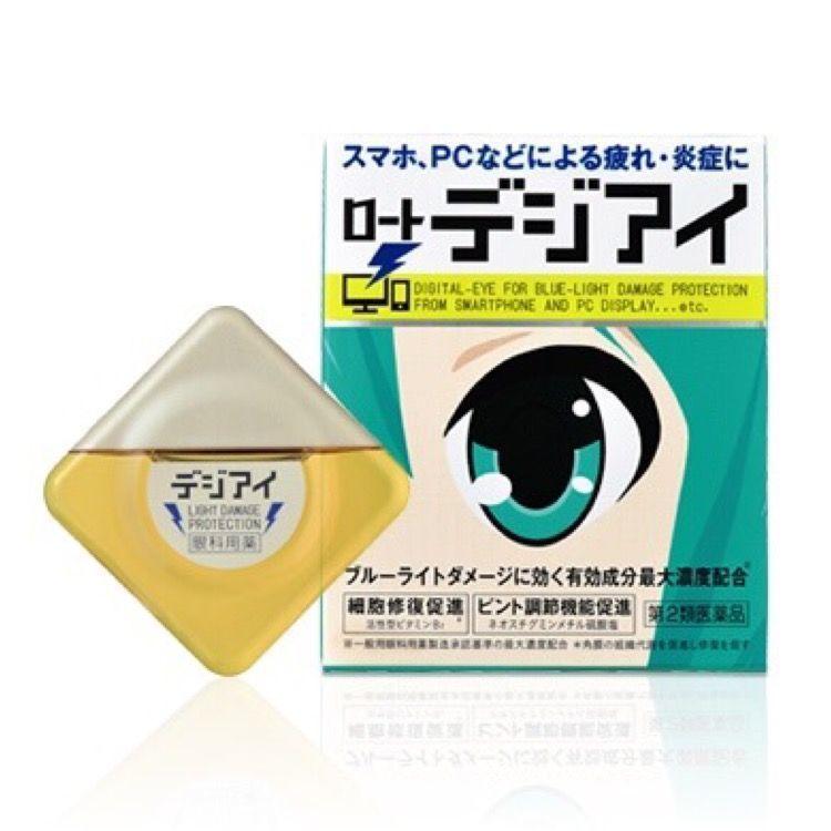 圖/樂敦Digi Eye藍光舒緩眼藥水/日幣685元Beauty美人圈提供,