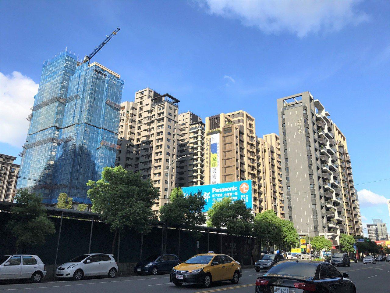 新莊建案點擊Q3排名第六。記者游智文/攝影