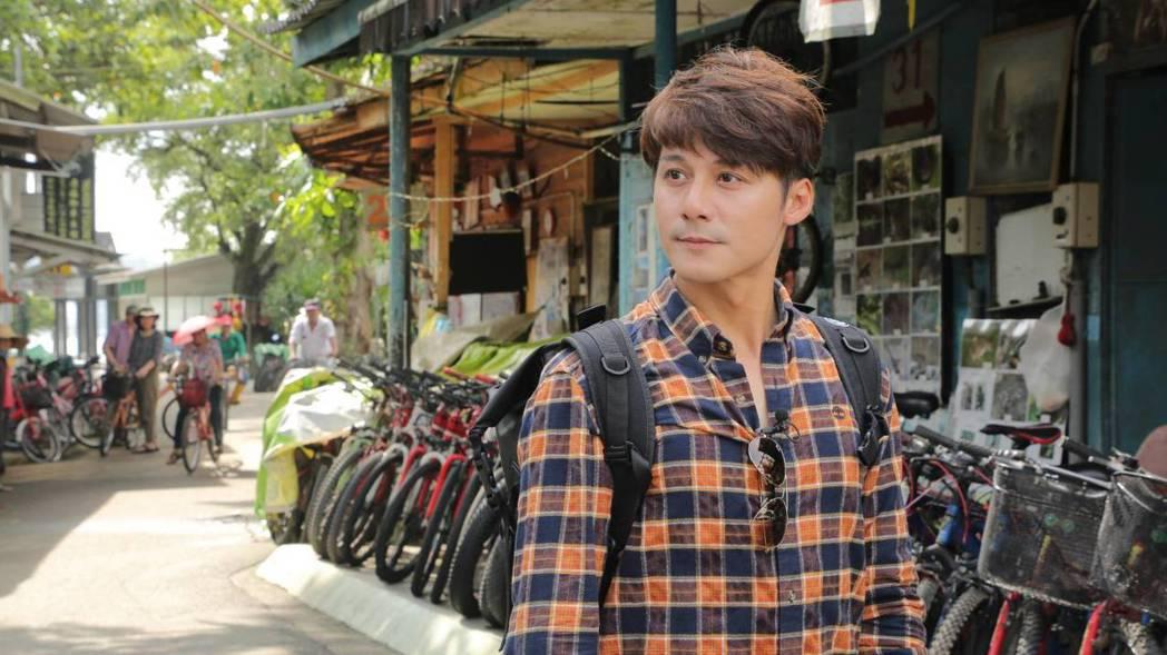廖科溢正在中美洲錄影。圖/亞洲旅遊台提供