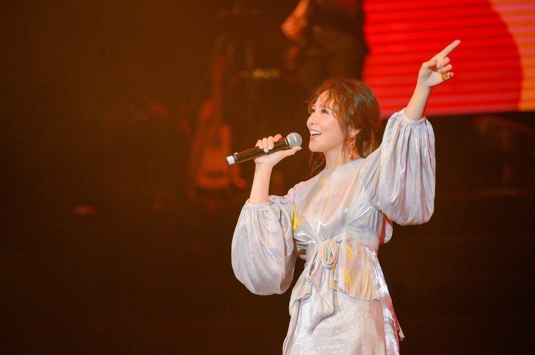 梁文音首度在澳門開唱。圖/澳門星娛樂、讚娛樂提供