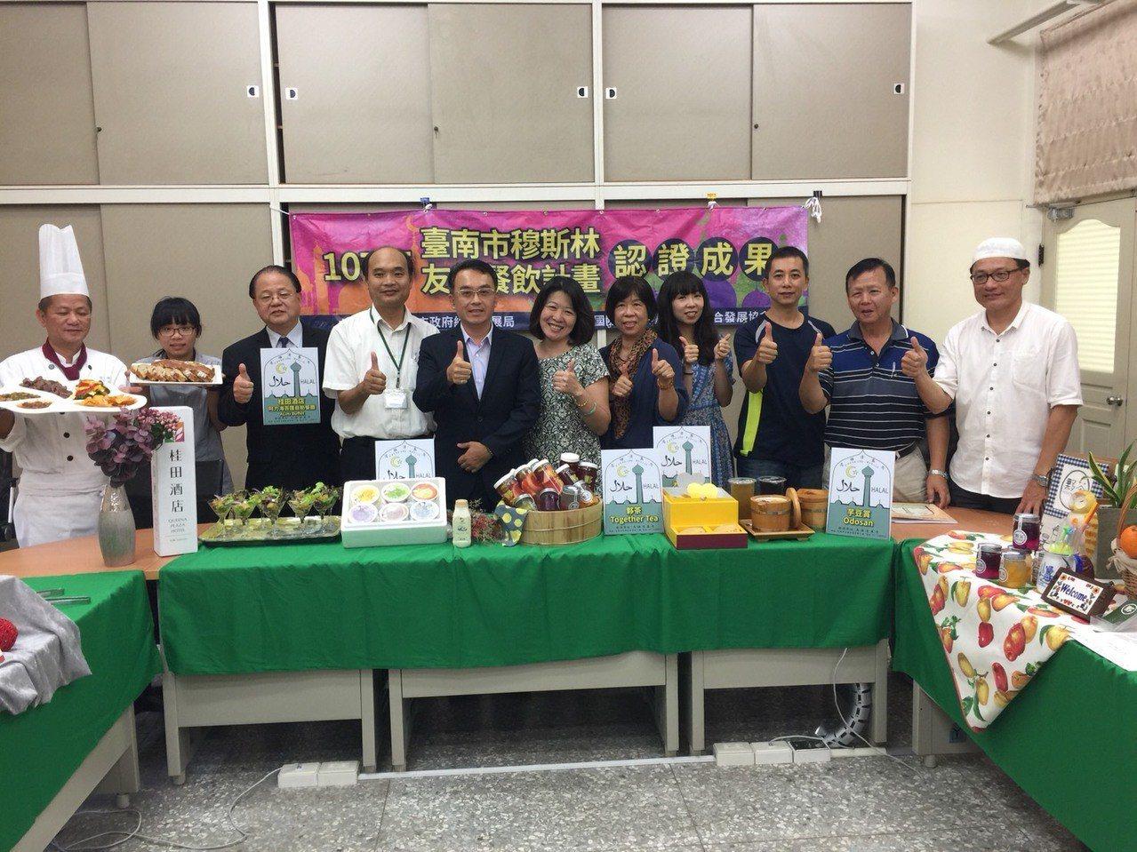 台南市今年有5家餐廳業者取得高雄清真寺的「穆斯林餐食店」認證 。記者吳政修/攝影