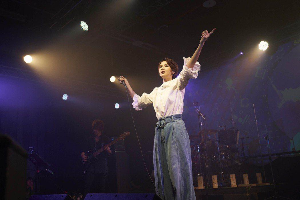 曾沛慈舉辦「致親愛的」台北場演唱會。圖/亞神音樂提供