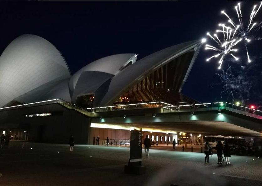 赴雪梨歌劇院看演出、倫敦看英超聯賽成為大陸民眾出境遊新選擇。 記者賴錦宏/攝影