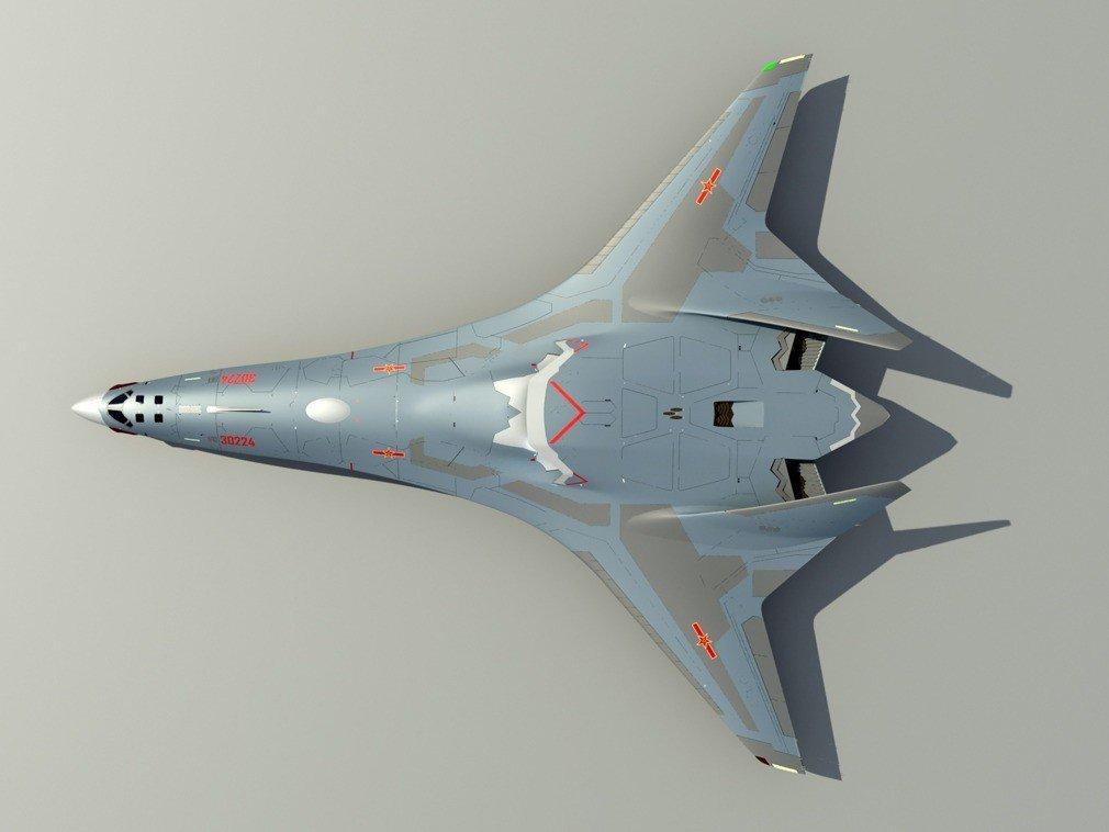 轟-20轟炸機的航程將不低於8,000公里,載彈量可達20噸至30噸,並具備隱身...