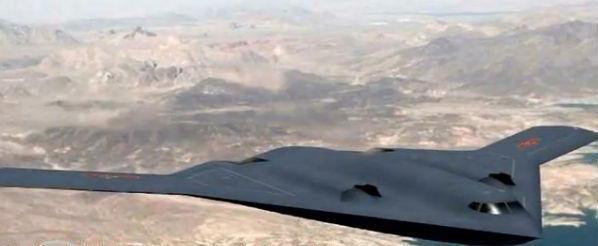 疑似曝光的中共轟-20高清CG圖,戰力是現有「轟-6K」的5倍以上,最快預計在2...