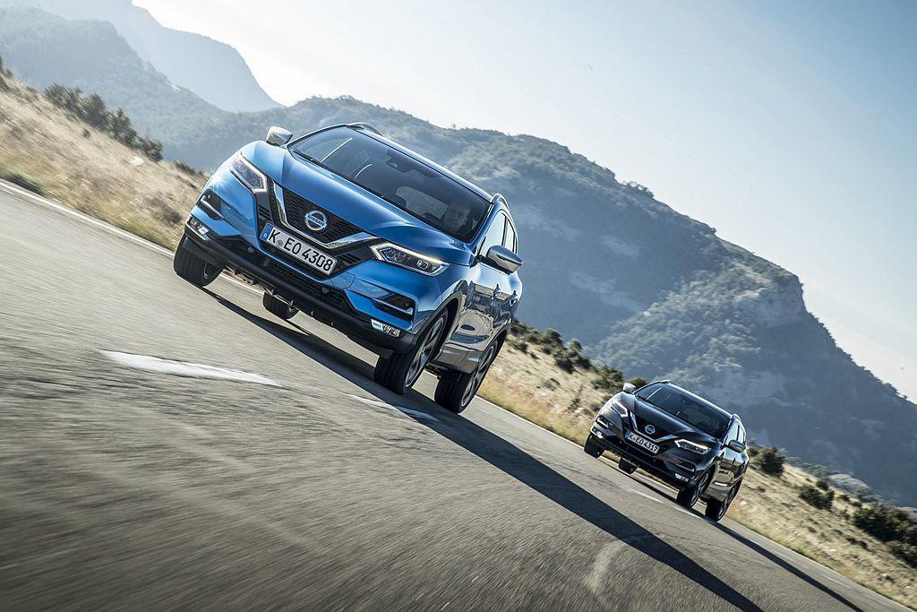 新引擎入替後Nissan Qashqai入門車型馬力提升至140ps,峰值扭力為24.4kgm,並有著121g/km碳排放量與18.8km/L平均油耗成績(手排車型)。 圖/Nissan提供