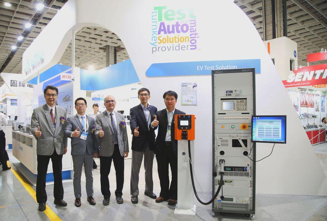 致茂首次曝光「Chroma電動機車充電樁與充電相容性測試平台」,工研院機械所組長...
